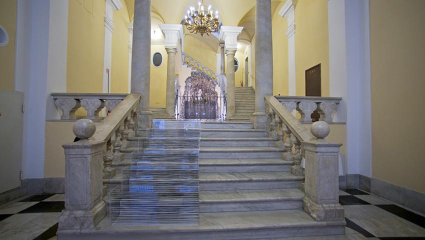 E.Fiorelli_install.Scala tonale_Palazzo Spinola_Genova