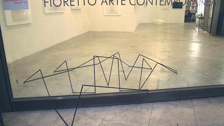 Installazione,  Gall. Fioretto, Padova, 2006