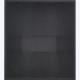 L'ombra del nero 86x78x10cm 2010 tarlatana tinta e filo di cotone
