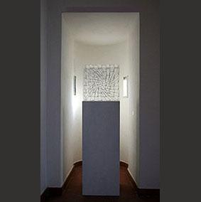 Origine con argine installazione per il XXXIX Premio Vasto, Palazzo D'Avalos
