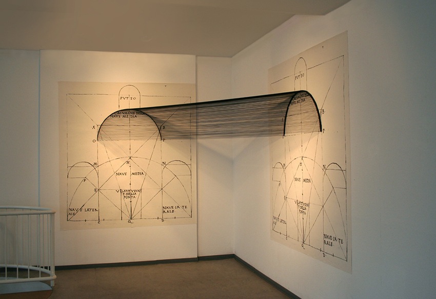 installazione Numen, Gedok, Karlsruhe, Germania